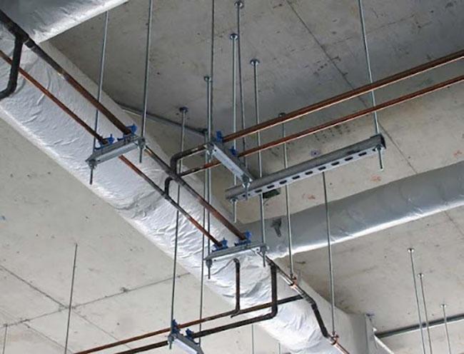 ứng dụng thanh ren trong xây dựng