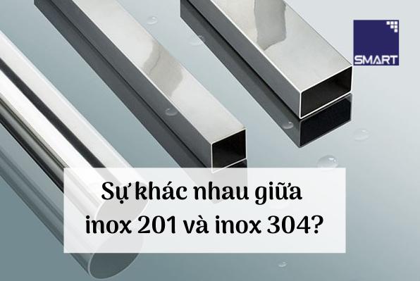 inox 201 và inox 304